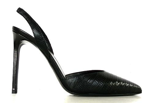 best sneakers 67db9 99e07 YVES SAINT LAURENT SCARPE DECOLLET DONNA TEJUS LUX 393832 CJ500 1000 NERO -  torhavn.org