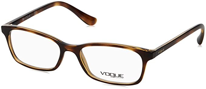 bc9cbb9d1a Image Unavailable. Image not available for. Color  Vogue VO5053 Eyeglass  Frames W656-51 - Dark Havana ...