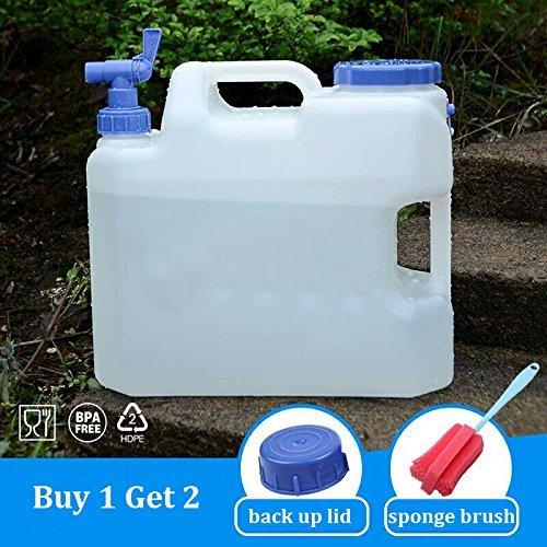 ElifeAcc Contenitore per Acqua Pieghevole BPA Gratuito con Rubinetto, Contenitore Contenitore Contenitore per riporre l'acqua per Campeggio Escursionismo all'aperto Escursionismo Uragano, Mensa Portatile Pieghevole SGS(10L)   Per tua scelta    Stili diversi  64b0ac