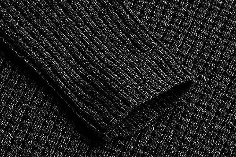 Mensleben męski sweter z okrągłym dekoltem, do biznesu, na czas wolny, prążkowany sweter: Odzież