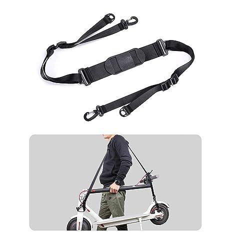 AUVSTAR eléctricos Scooter Correa de Hombro Cinturón de Transporte portátil Adecuado para niños Bicicletas Bicicleta Plegable Xiaomi Mijia M365 ...