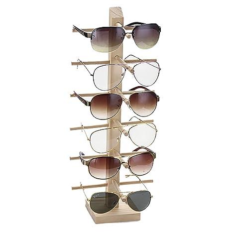 Lovehouse21 - Soporte para Gafas de Sol de Madera de Varias ...