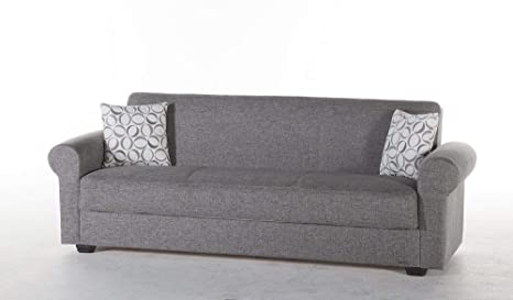 Amazon.com: Istikbal Elita S Relax Sofa Diego Gray: Kitchen ...
