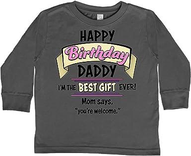 inktastic Happy Birthday 1 Yr Old Long Sleeve Creeper