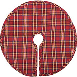 b7599e845ed Amazon.com  VHC Brands Holiday Decor Galway Mini Tree Skirt