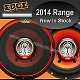 "Edge Audio ED206-E2 6.5"" inch 180w 180 Watts 4-Way 16.5cm Car Door Coaxial Speakers Set - Pair"