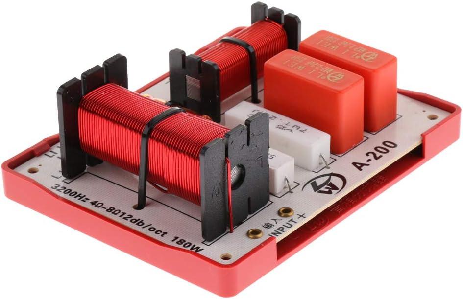 KESOTO Nuevo 180W Multi Altavoces Bajo Agudo de Audio Frecuencia Divisor Filtros de Cruce
