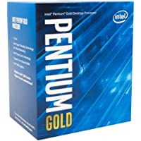 Intel Pentium Gold G5400 3.7GHz Dual Core, 4-Thread Socket 1151 Coffee Lake Processor (54W TDP, 4MB Cache, Intel UHD 610 Graphics) with Stock Intel Cooler
