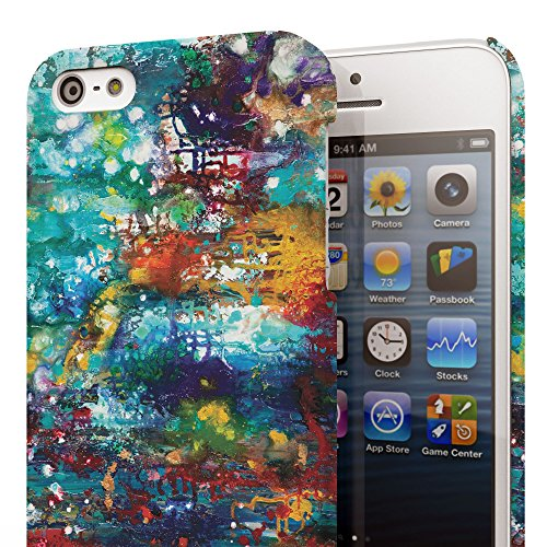 Koveru Back Cover Case for Apple iPhone 5S - Colored brushes