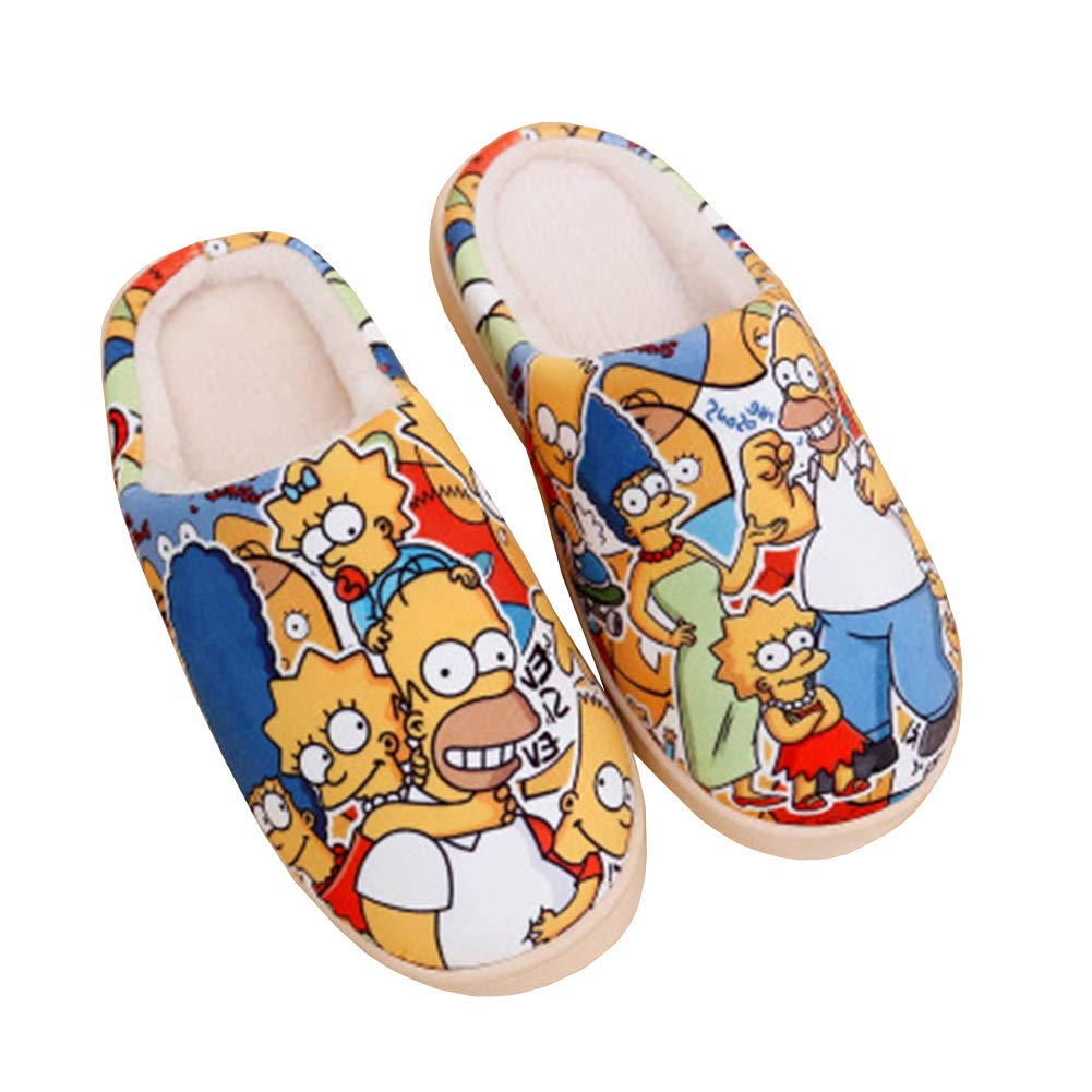 Zapatillas Mantener Caliente Dibujos Animados Simpson  https://amzn.to/2TSiWBF