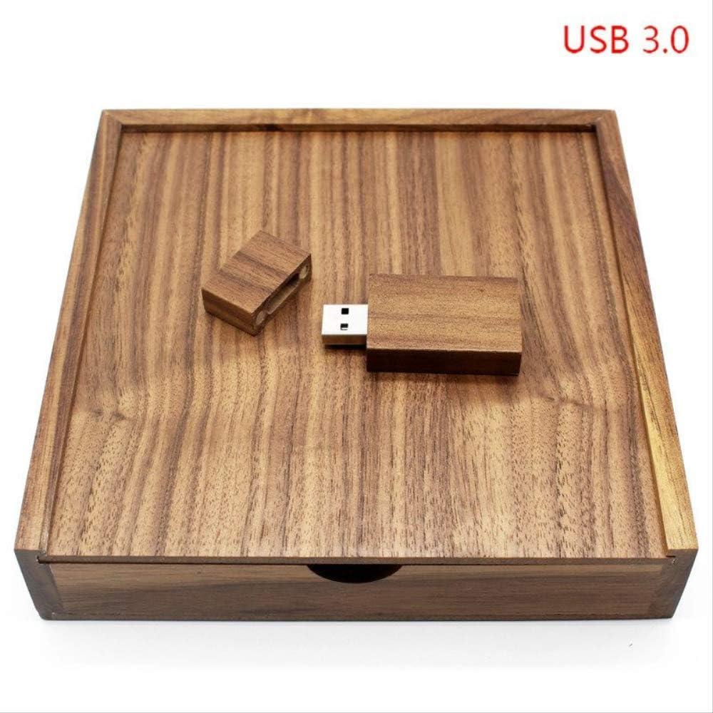 HEDOMEN USB 3.0 Custom Made Walnut Wooden + Caja 64 GB USB Flash Drive Pendrive 4 GB 8 GB 16 GB 32 GB Fotografía Usb3.0 Madera con Caja 4 GB: Amazon.es: Electrónica