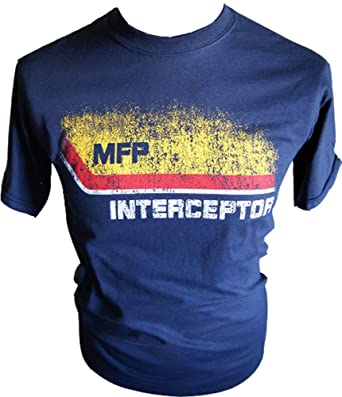 d8c05ab76d0 Simplicitees Mad Max MFP Interceptor Mens Tshirt Inter I Main Force Patrol  Logo T-Shirt - Miller Police Mel Fury Gibson Mad Road Toecutter Max T-Shirt