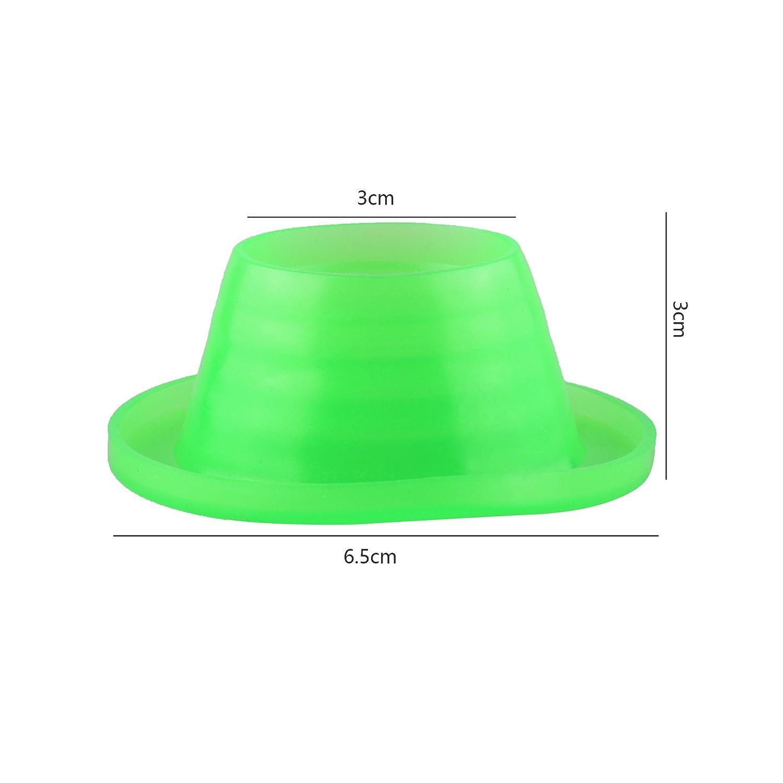 Beautyflier Pack of 4 Anti-Odor Pest Control Deodorant Sewer Pipe Seal Ring Plug for Washing Machine Pool Floor Drain