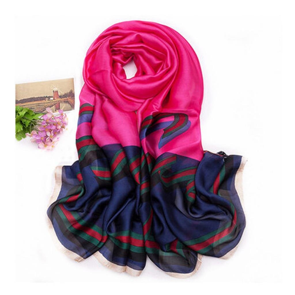 100% pure silk De Paris Scarf Thin Long Scarf Wrap Silk Scarves For women Girl Lady