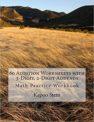 Amazon.com: 60 Addition Worksheets with 3-Digit, 2-Digit Addends ...