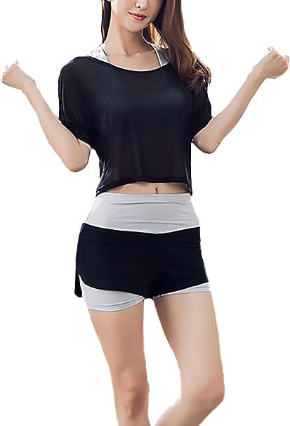 Battercake Ropa De Deporte Mujer Yoga Fitness 3 Piezas Conjuntos ...