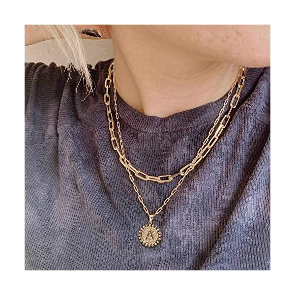 Gold Initial Necklaces for Girls