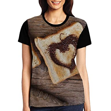 c73c1dd4bbae ERGOU Women s Raglan Top Tee Bread Summer Casual T-Shirt at Amazon Women s  Clothing store