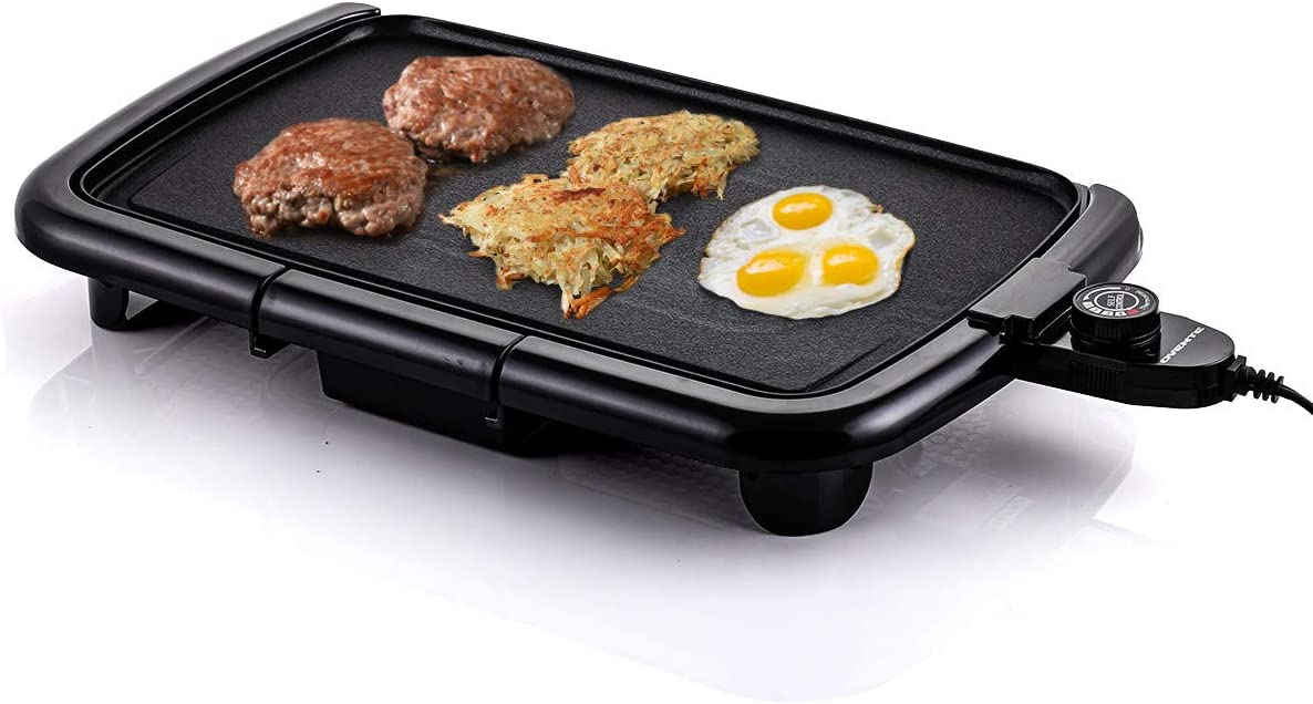 Ovente Electric Indoor Kitchen Griddle