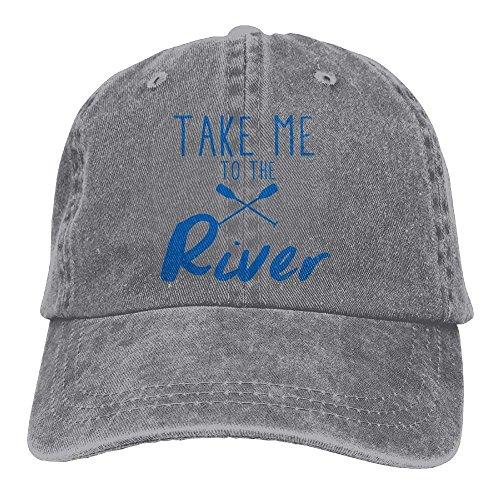 Hat béisbol Me Take Sport Curved Women River Denim Walnut Gorras to The Cake Kayak Hat Baseball Adjustable ECUqP