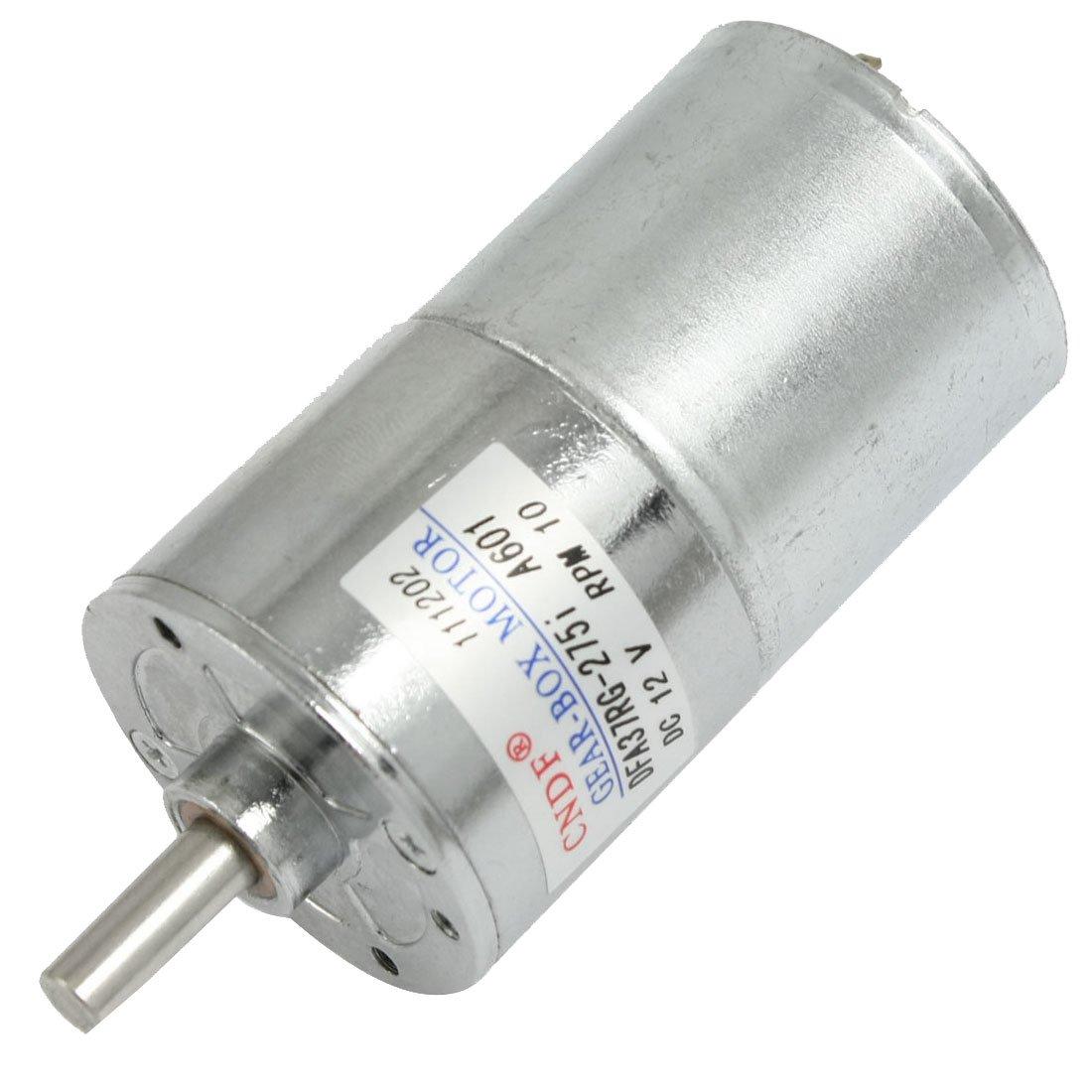Dc 12v 130ma 10rpm 15kg cm high torque permanent magnetic for Surplus permanent magnet dc motors