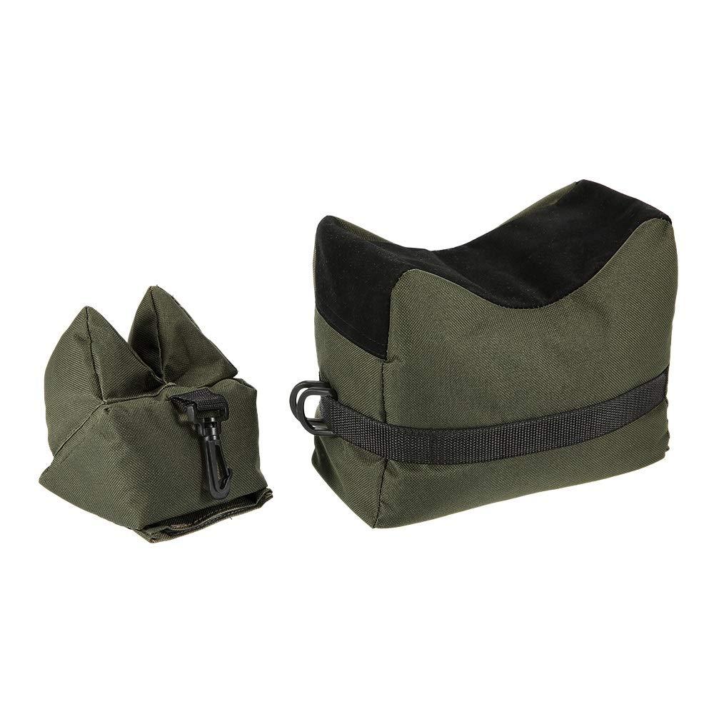 Elegdy Set of 2 Hunting Shooting Support Package Rear Front Sandbag Shooting Rest Bag