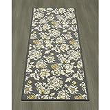 Ottomanson Studio Collection Floral Design Runner Rug, 20