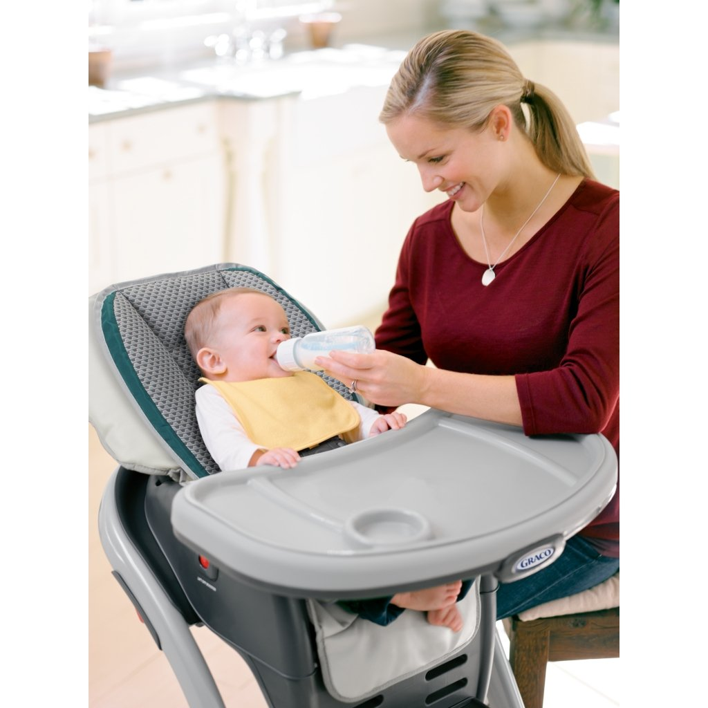 Graco Blossom 4-in-1 Convertible High Chair Seating System, Sapphire by Graco (Image #3)