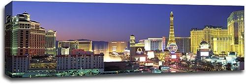Dusk on The Las Vegas Strip