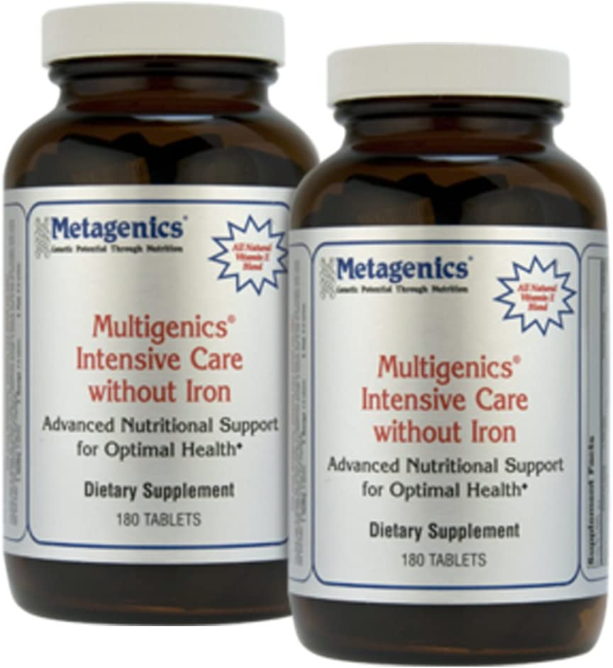 Metagenics Multigenics Intensive Care without Iron 180 Tabs – TwinPak