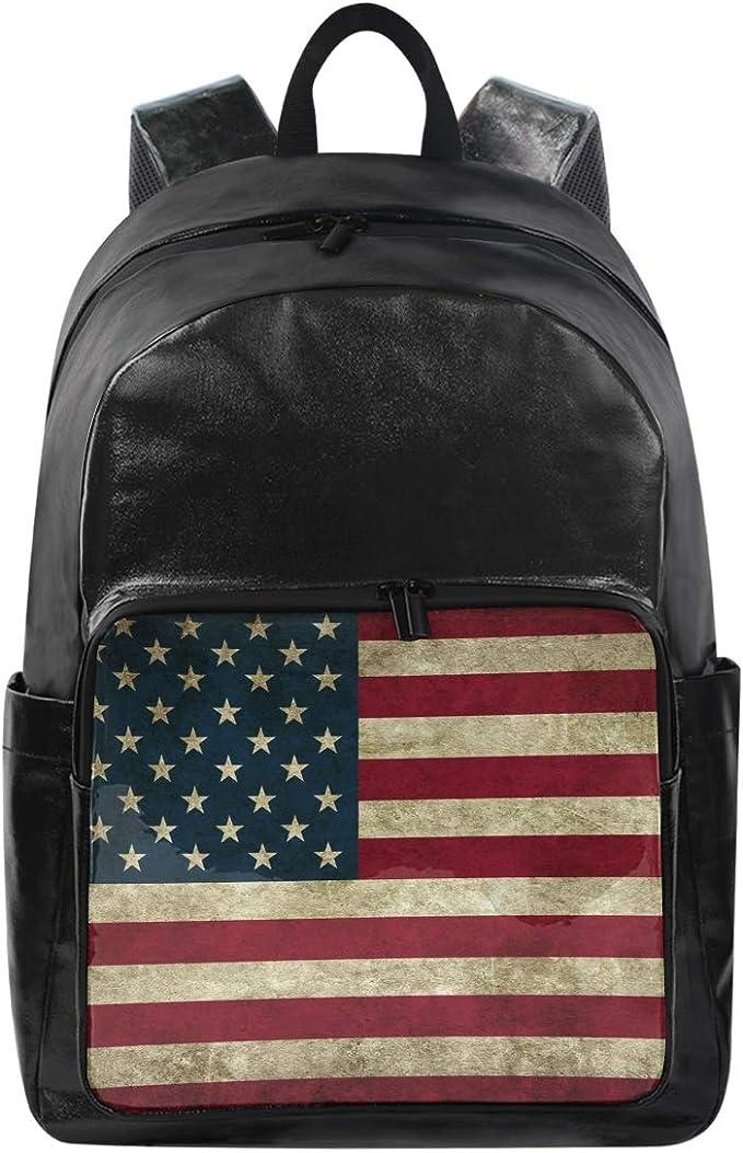 CPYang Mochila de Viaje con Bandera de Estados Unidos Estilo ...