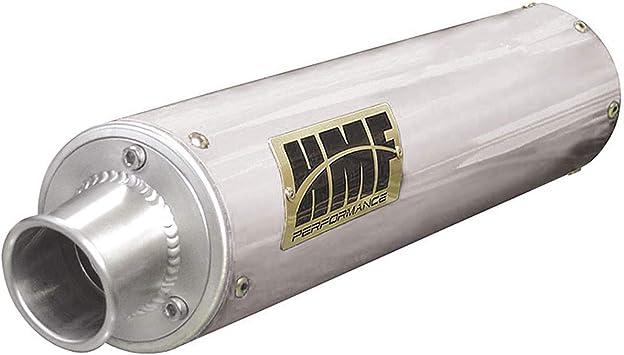 HMF Performance Exhaust Pipe Muffler Honda Rancher 420 09 10 11 12 13 Brushed