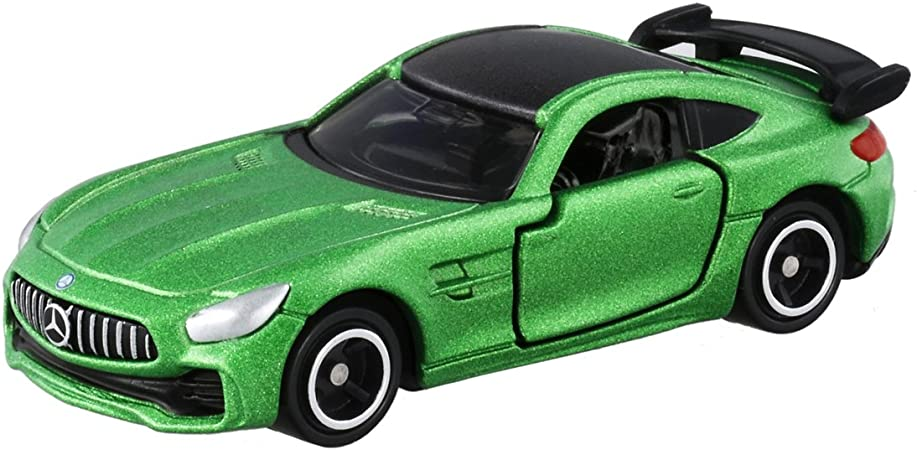 Tomica No 7 Mercedes-AMG GT R box