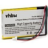 Batterie pour GPS Garmin Nüvi, Nuvi 760, 760T, 765, 765T , remplace le modèle 361-00019-11