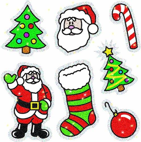 Carson-Dellosa ERCD-2905 Carson Dellosa Christmas Dazzle Stickers 2905