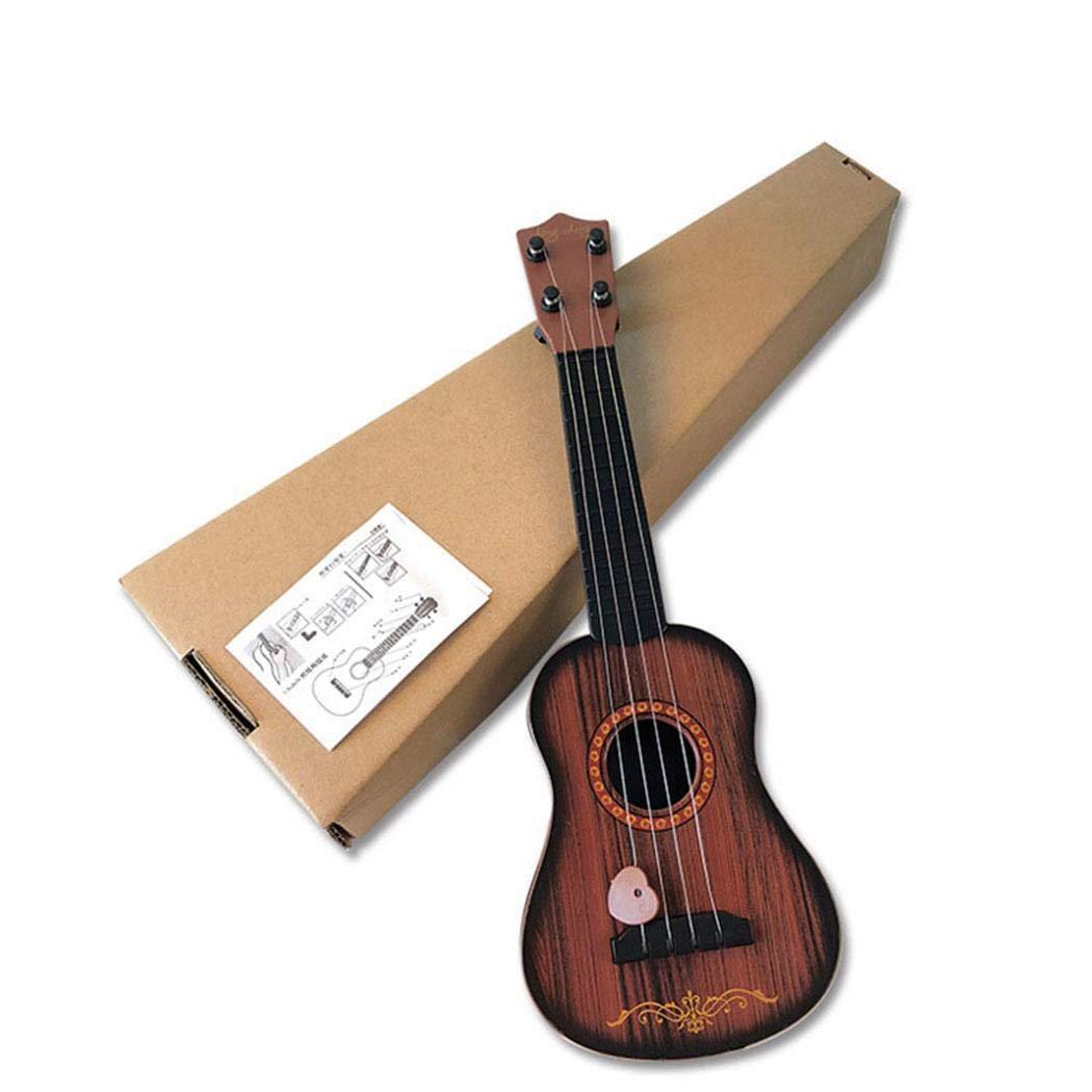dozenla Mini Ukulele Guitar Toy for Kids Baby Musical Instrument Educational Toy Guitars for Beginner Starter