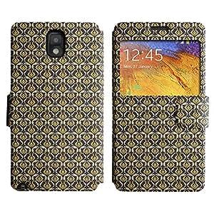 LEOCASE patrón increíble Funda Carcasa Cuero Tapa Case Para Samsung Galaxy Note 3 N9000 No.1002624