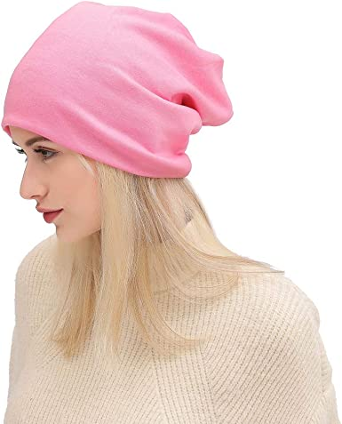 Hospaop Beanie Gorro para hombre y mujer, Slouch Long Beanie ...