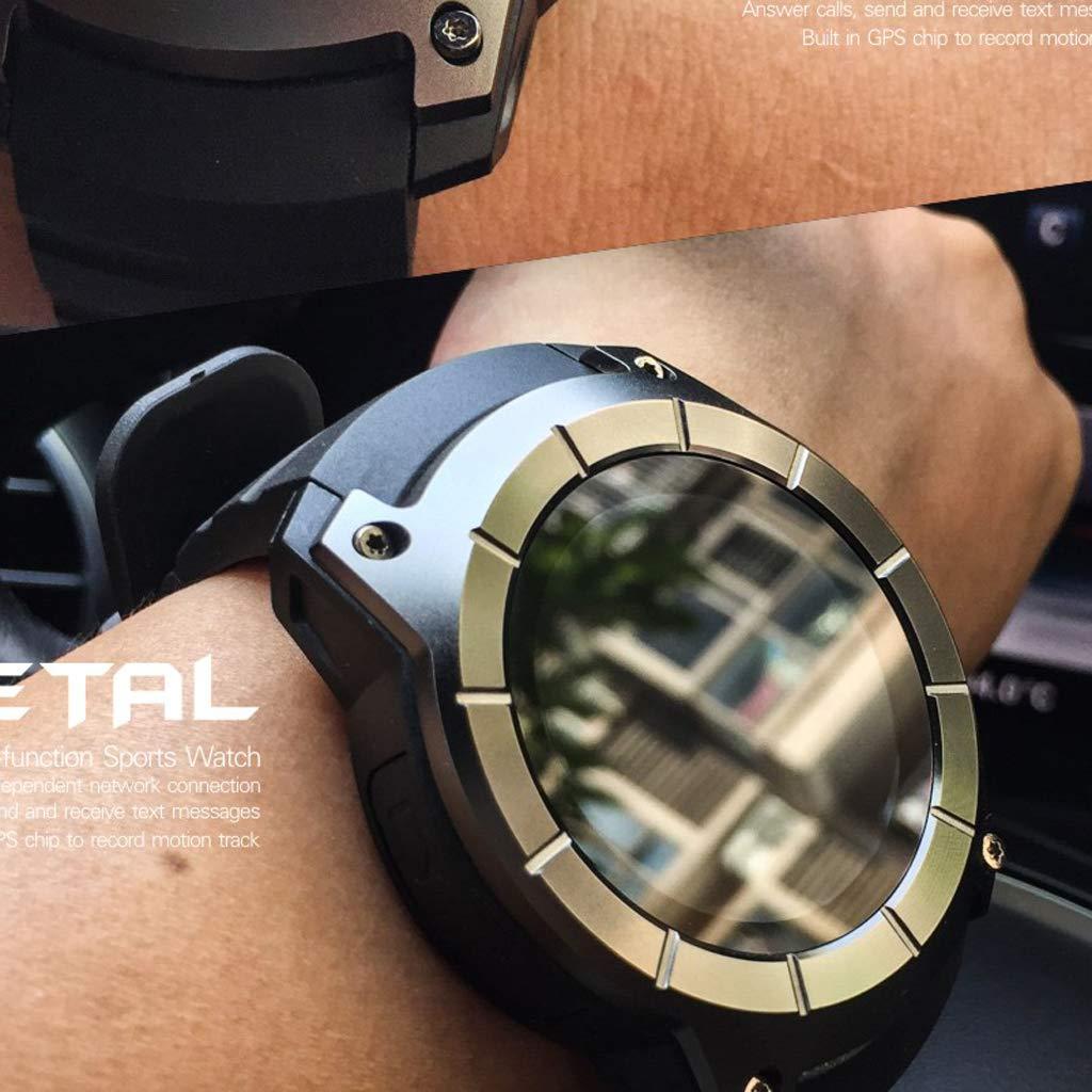 Gazechimp Reloj Inteligente Ritmo Cardíaco GPS S958 de Color ...