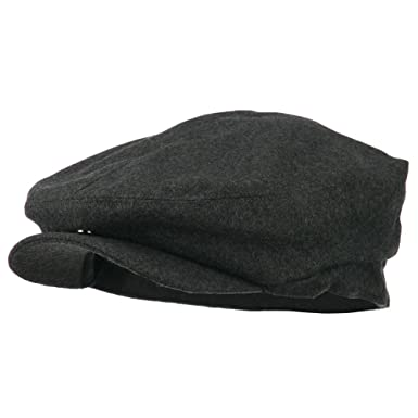 a4e7a50604e1e New Wool Blend Ivy Cap-Charcoal (XL-2XL) at Amazon Men s Clothing store