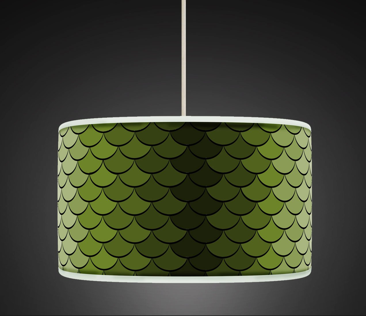 30cm Green Retro Geometric Handmade Giclee Style Printed Fabric Lamp Drum Lampshade Floor Or Ceiling Pendant Light Shade 458 Amazoncouk Lighting