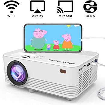 Poyank TP-01 WXGA 2000-Lumens LED Mini Projector