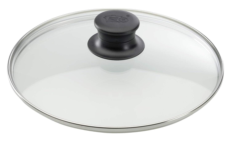 Elo 64133 Lid Glass Stainless Steel 32 cm ELO Stahlwaren