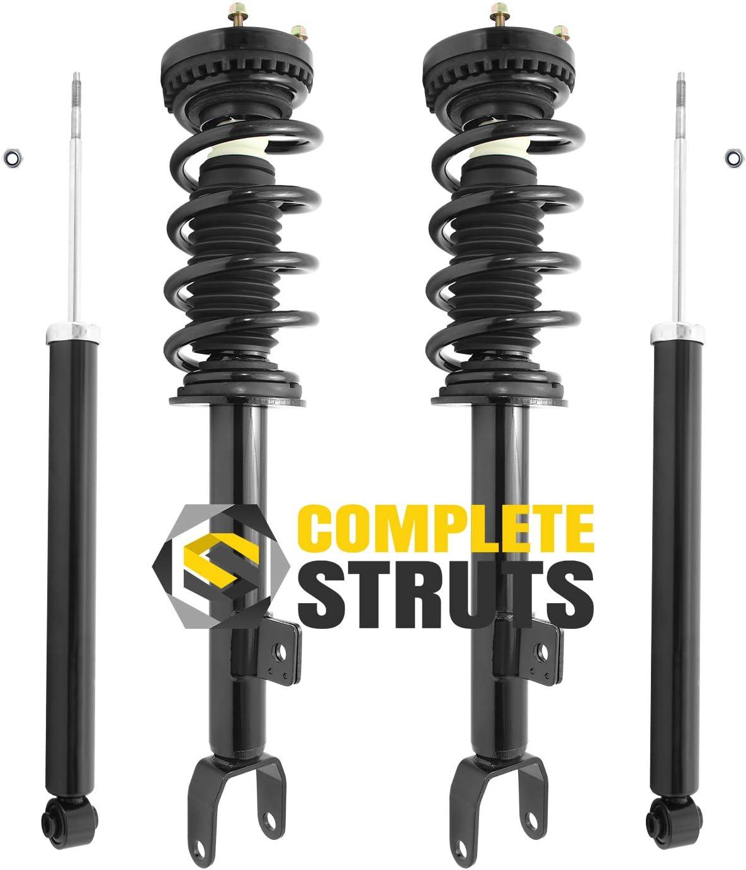 1 Front Quick Complete Strut /& Spring Assembly 2006-2010 Dodge Charger V6 RWD