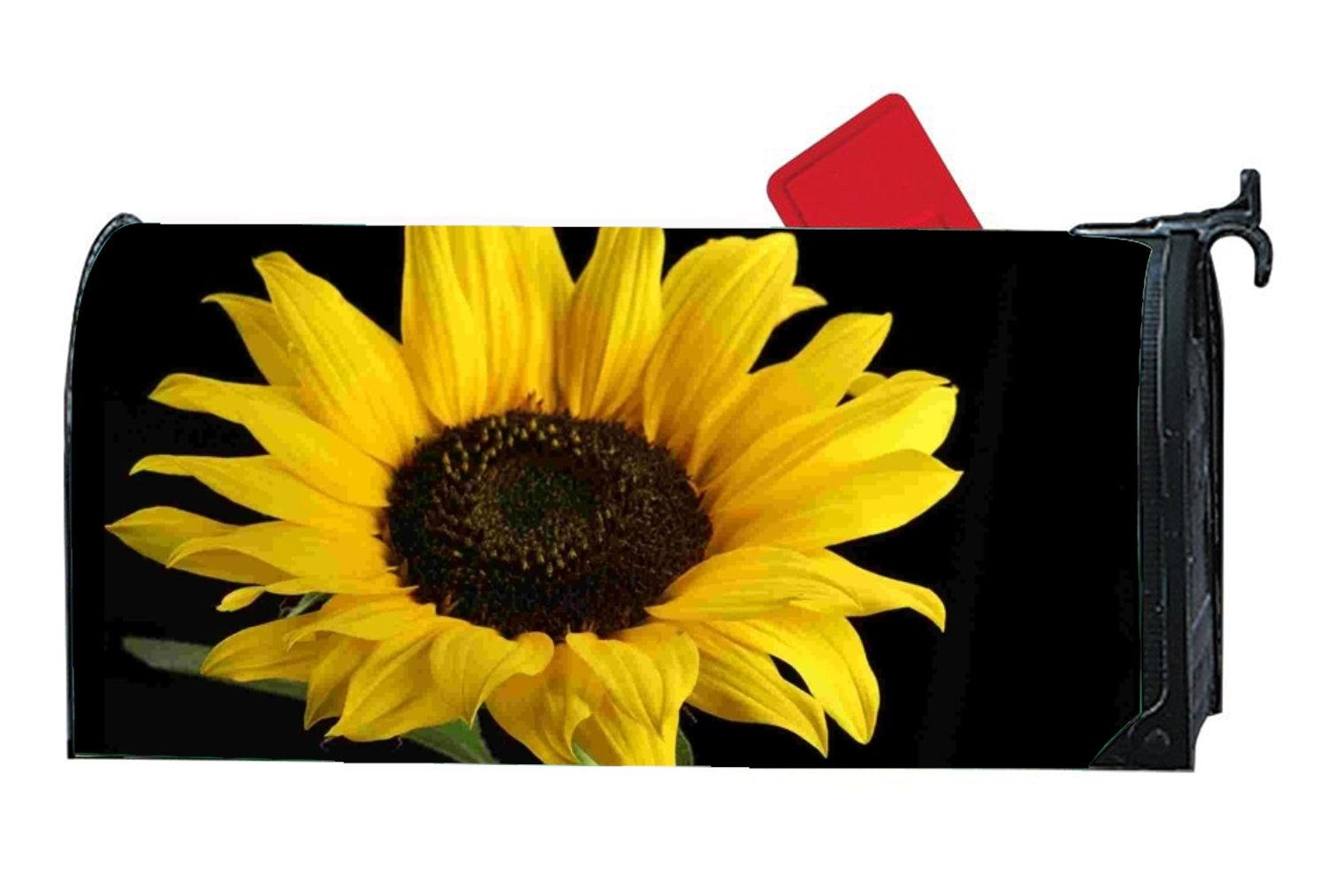 KSLIDS Personalized Mailbox Makover Cover Beautiful Sunflowers Mailbox Makeover Home,Outdoor,Yard Magnetic by KSLIDS