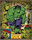 "Poster 40 x 50 cm - ""Marvel Comics - Incredible Hulk Retro"""