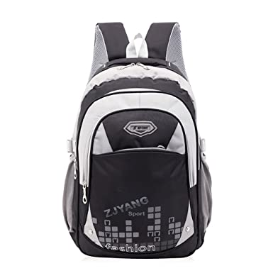 Atermia Bookbags Cool Book Bags School Backpack for Boys Black a7d3e9b72b15