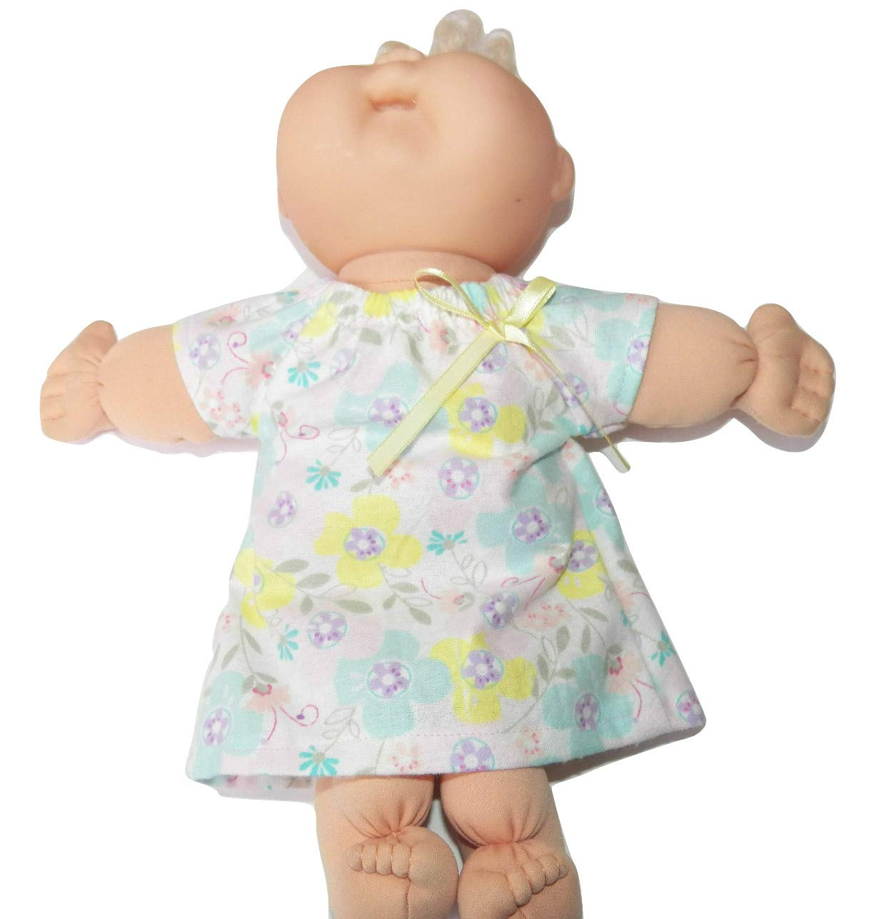 Cabbage Patch Doll Clothes 14 inch Girl or Preemie Size Lavender Floral Nightgown