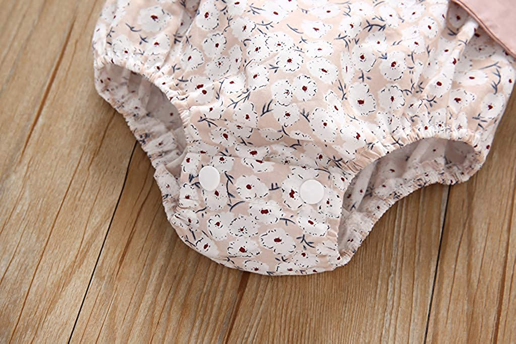 Fashion New Newborn Baby Girls Floral Ruffle Sleeve Backless Bowknot Romper Jumpsuit Infant Summer Sunsuit Clothes