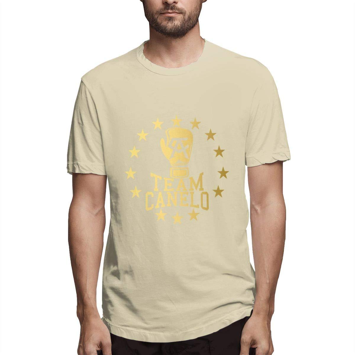 Seuriamin Team Canelo Canelo ??lvarez Mens Ultra Soft Walk Short Sleeve Shirt